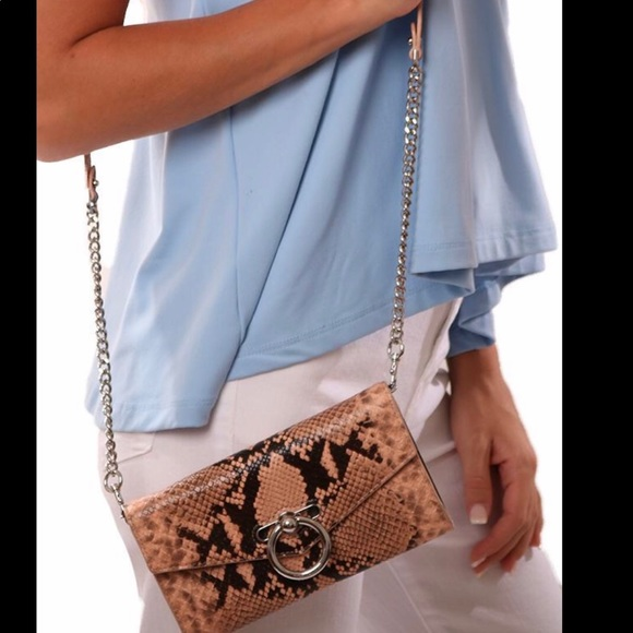 Rebecca Minkoff Handbags - NWT Rebecca Minkoff Snakeskin Wallet Purse